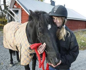 När Chock kom från Skåne dömde veterinären i Östersund ut honom.– Ha sa att hästen kanske aldrig skulle kunna bli frisk, säger Julia, 12 år.