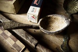 3. Den här sleven användes att ösa upp snus med. Det mesta såldes i lösvikt.