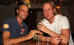 Daniel och Mattias var på Blue Moon Bar i helgen.