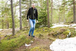 Den 3 maj är det premiär för sommarserien i Njurunda – då ligger det troligtvis kvar snöfläckar på marken.