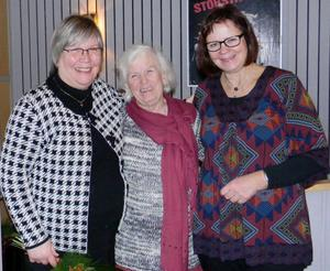 Deltog i det öppna mötet om KOL gjorde bland andra Anna Nicolaisen, föreningens ordförande Gun Påhlsson samt Kicki Fjellström.