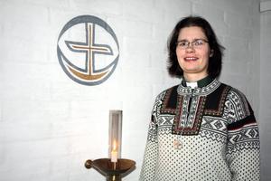 Kajsa Olofsson har jobbat som diakon i snart 11 år och har aldrig ångrat sitt yrkesval.