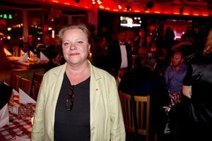 Glad. Denise Norström (S) är nöjd att regionfrågan tagit ett steg framåt.