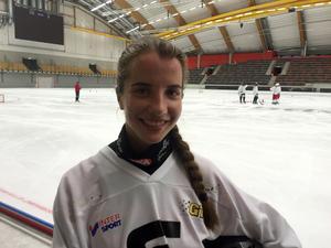 Olga Bogdanova, en av två ryskor i SAIK, är nu på plats för att träna med sitt nya lag.