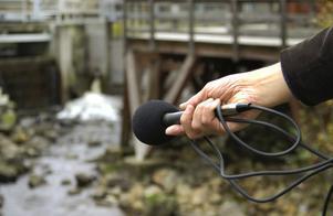 Inspelning. Forsande vatten kan bli bra bakgrundsljud i en större komposition med traditionella instrument.