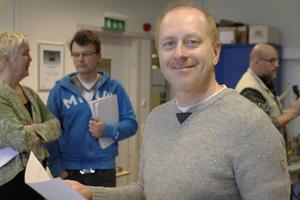 Mats Aine ser fram emot att använda vindtunneln.