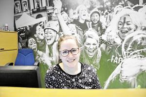 på Kåren. Studentkåren och Örebro universitetet samarbetar för att ta emot studenterna på bästa sätt, säger Maria Backsell, avgående vice ordförande på Örebro studentkår.