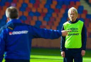 Olof  Mellberg, Daniel Majstorovic och Petter Hansson.