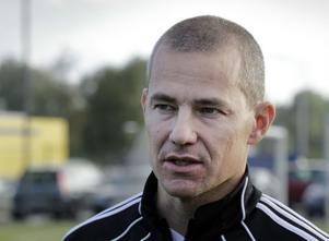 Stefan Burman, vd i Svenska fotbollsakademin, och tidigare fotbollsspelare i såväl Hög, Näsviken och ABK, fanns på plats på projektets första dag.