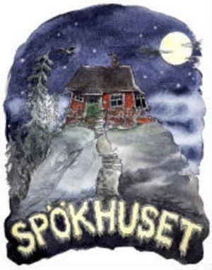 Omslaget till Spökhuset, en av Pia Niemis Siv & Johansson-böcker. I vår tar hon ut gänget på fyra nya äventyr.