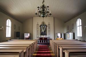 Kapellet byggdes på 1930-talet och har i omgångar fått renoveras. Nu är det kallställt och stängt under den största delen av året.