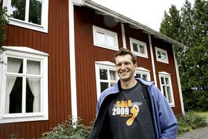 Gillar Sverige. Luboš Krajei från Schweiz gillar maten, kulturen och naturen i Sverige. BILD: VERONICA SVENSSON