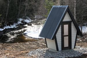 Mätstationen ska från och med i sommar genomföra kontinuerlig vattenföringsmätning i Väljeån.