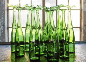 Ett exempel på Anny Jernbergs glaskonst.