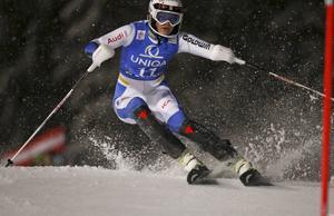 Anna Swenn-Larsson gjorde sitt bästa resultat i världscupen den här säsongen och blev bästa svenska på en femte plats, före Frida Hansdotter