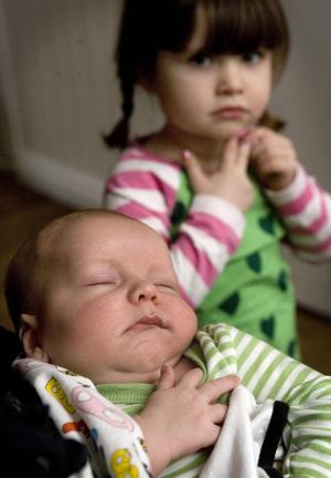 Det var storasyster Madeleine som bestämde att lillebror skulle heta Olle.