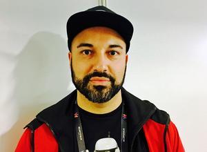 Hanif Sabzevari är på plats nere i Malmö för att medverka i Melodifestivalens andra deltävling.