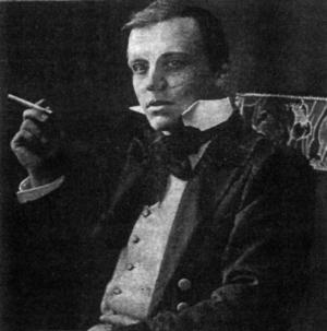 Författaren och äventyraren Hanns Heinz Ewers.