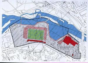 Länsstyrelsen ställer sig bakom kompromissförslaget där den gamla stenläktaren bevaras men resten av arenan byggs om så att Strömvallen rymmer 5000–6000 åskådare och klarar UEFA:s nya normer.