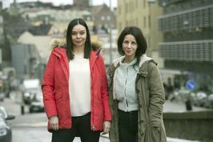 Lejla Hastor och Nivin Yosef är redaktörer för antologin