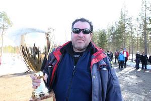 Tomas Andersson från Gävle gick sin egen väg under tävlingen, en tävling som han till slut vann.
