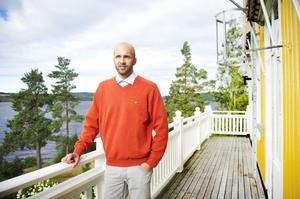 Bäckagårdsskolans rektor Jonas Näslund är lättad efter Skolinspektionens rapport som visar att skolan inte kränkt någon elev.