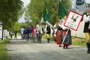 Nationaldagsfirande i Järvsö.
