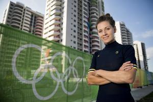 160804 Emma Johansson, cykel linjelopp poserar fšr ett portrŠtt under en presstrŠff den 4 augusti 2016 infšr OS i Rio de Janeiro.Foto: Petter Arvidson / BILDBYRN / kod PA / 91426