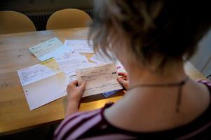 Foto: TT Nyhetsbyrån.3.237 personer i Dalarna fick löneutmätning i Dalarna 2016.