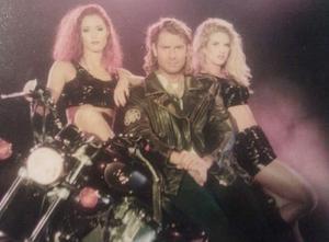 Tina Macklin, Joe Labero och Jessica Klingberg på Magic Tour 1995.