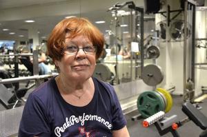 Pia Wretholm fyller 83 år i april men känner sig betydligt yngre, tack vare träningen.