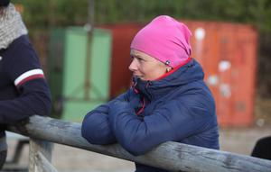Agneta Wallin, eldsjäl i Svegs Ryttarförening.