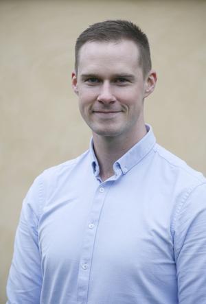 Andersson Elfgren, regionfullmäktigeledamot för Moderaterna.