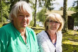 Vännerna Britt-Marie Eriksson och Runa Björklund åker båda hit från söderut. Det bästa med Bjuråkersstämman är musiken, stämningen och folket här.