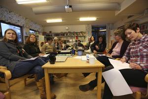 Bloggworkshop på Hosjöskolan i Falun