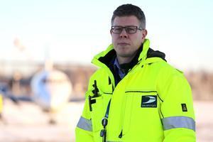 Anders Mjöberg, flygplatschef Mora-Siljan flygplats.