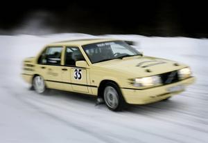 En bild från Offerdalingen 2008. Bosse Hemmingsson i sin volvo.   Arkivbild: Denny Calvo