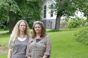 Jessica Rolfsdotter och Marina Feldmanis åker fortfarande ut och letar efter Markus emellanåt.