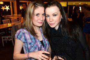 Johanna Augustsson och Maria Hermansson.