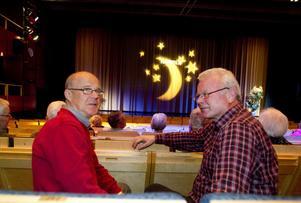 I ungdomens dagar så var onsdagar vikt till biografen. Även om intresset för film finns kvar så blir det mer sällan för kamraterna Kjell Ljunggren och Sten Högman.