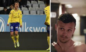 Shpetim Hasani fick skrika ut sin glädje efter 2–1-målet mot Malmö FF.