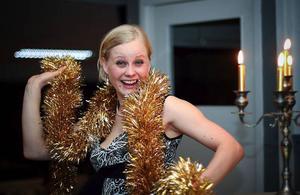 Malin Löfgren blev travgalans stora vinnare – hon kammade hem fem priser, bland annat utsågs hon till årets proffstränare.Foto: Tom Jönehag