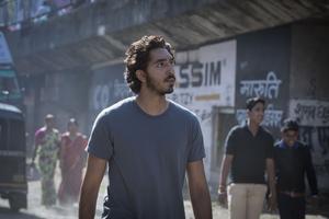 Dev Patel spelar den vuxne Saroo i den verklighetsbaserade filmen