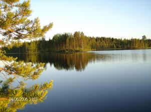 Bilden tagen i Finland på semester resa