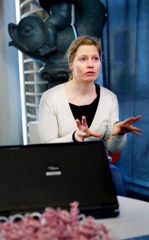 En som funderat ett tag på att ta hjälp att utveckla sin idé var Kristina Söderlund från Östersund. När hon fick höra att tillväxthuset skulle finnas i Östersund i går gjorde hon slag i saken och gick dit.
