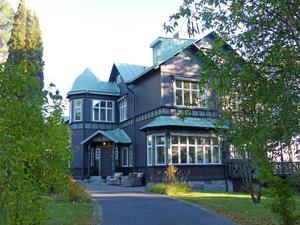Villa Tallbacken, ritad av Ferdinand Boberg, som ju också var verksam i Gävle.