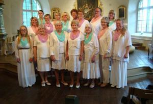 Belladonnakören sjunger till helgen både i Noberg och i Fagersta. Bild: Belladonnakören