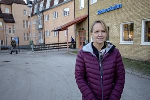 Helene Vestman, rektor på Risbroskolan i Fagersta. Hon har lyckats locka lärare bland annat tack vare skolans arbete med specialpedagoger.