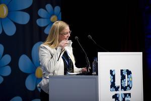 Julia Kronlid valdes till Sverigedemokraternas vice ordförande under partiets landsdagar i Lund.