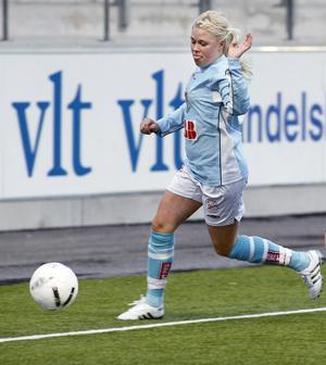 Frida Lindgren gjorde GIF-damernas mål.
